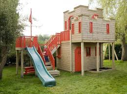 Backyard Playhouse Plans by 133 Best Playhouses Images On Pinterest Backyard Playhouse
