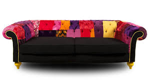 Chesterfield Patchwork Sofa Patchwork Furniture Upholstery Fabrics