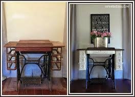 Best Sewing Table by Beautiful Singer Sewing Machine Cabinet Transformation