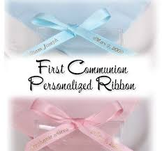 printed ribbons for favors 100 best communion images on communion