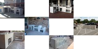 Kitchen Island Kits Outdoor Kitchen Frame Kits Gallery Of How To Build An Outdoor