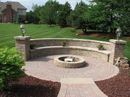 backyard landscaping ideas with fire pit fire pit ideas