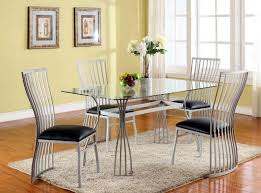contemporary dining room chairs wood set dark solid wooden