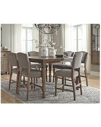 Counter Height Dining Room Furniture Spectacular Deal On Tanshire Counter Height Dining Room Table By