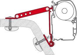 Mounting Brackets For Awnings Fiamma Winnebago Rialta Mounting Brackets For F45 Awnings 3