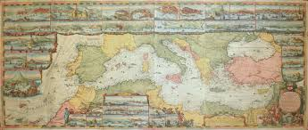 Wall Maps Of The World by Rare Old Antique Maps Mediterranean General Virtual Antique