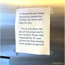 College Printer Meme - battle of sandwich turkey and swiss on rye fridge note war is