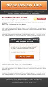 single product review website templates mrr private label rights