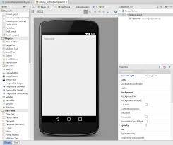 android studio ui design tutorial pdf creating an exle android app in android studio techotopia