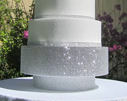 6 to 22 round silver or gold wedding cake stand