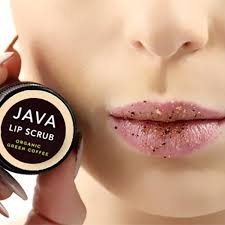 Lip Scrub antioxidant demitasse lip scrub with green coffee bean java skin care