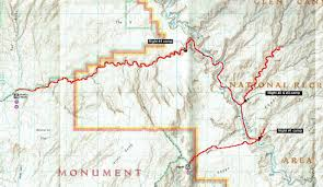Escalante Utah Map escalante canyons 2014