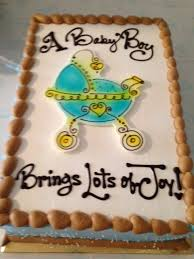 this baby shower cake was awesome i brought in the napkins i