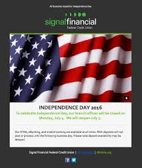 Flag Federal Credit Union Email Design On Behance