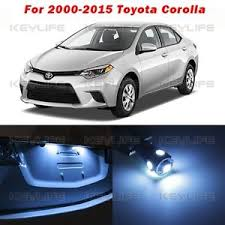 2010 toyota corolla s blue 8 blue lights led interior package kit for toyota corolla