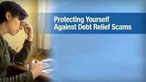 protecting yourself against debt relief scams youtube
