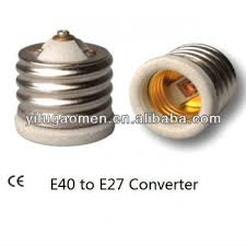 light bulb socket size adapter e40 to e27 adapter converter light bulb socket size reducer