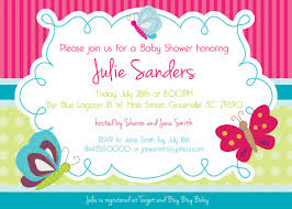top collection of butterfly baby shower invitations 2017