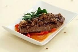 cuisiner le foie de veau recette de foie de veau poêlé à l échalote piperade de poivron