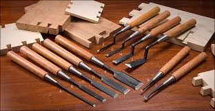 japanese push chisels lee valley tools