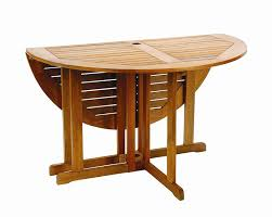 Patio Furniture Tables Folding Wood Patio Table