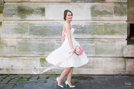 printemps liste mariage robe de mariee courte bruno luisa mariage printemps