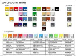list of colours piece information is there a list of colours currently in