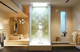 store interior design centered atrium of fashion retail store interior design honor nyc