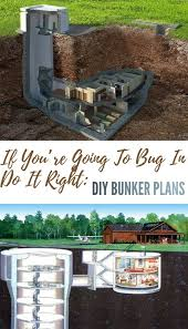 home bunker plans if you re going to bug in do it right diy bunker plans survival