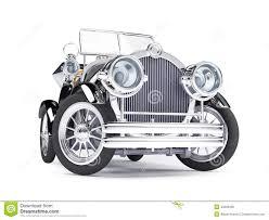 roll royce medan 1910 black retro car stock illustration image 40294695