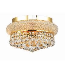 gold flush mount light elegant lighting v1800f12g sa primo 4 light 12 inch gold flush mount