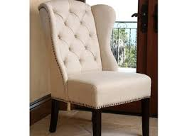 dining room gray velvet wingback dining chairs pictures