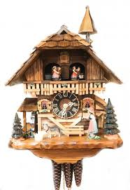 black forest gloecknerin with 1 day cuckoo clock 1 day