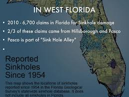 Florida Sinkhole Map by Water Conservation For Pasco County By Cbowman0518