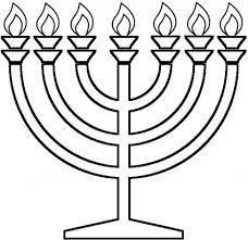 simple menorah image result for symbols clip jødiske symboler