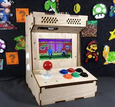 build your own arcade cabinet diy arcade cabinet kits more porta pi arcade kit