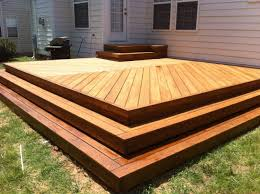 wrap around deck designs decks without railings 2017 including low pictures level deck