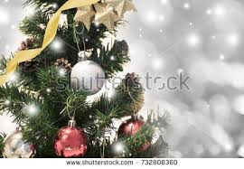 tree decorations snowflake on gold stock photo 730554088