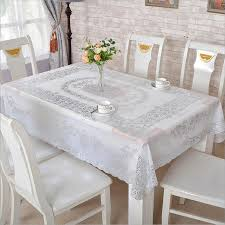 Clean Table Waterproof Pvc Vinyl Wipe Clean Tablecloth Dining Kitchen Table