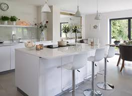 white kitchen with island kitchen white modern kitchen with island unit units grey worktop