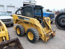 john deere 325 skid steer loader jd construction equipment