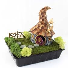 Lemax Halloween Houses by Fairy Houses U0026 Abodes