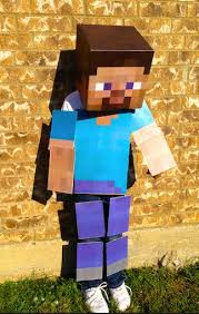 Minecraft Costume Halloween Minecraft Costume Body Costume Kit Steve Lemurapps