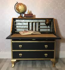 gold and white writing desk 60 most outstanding desk distressed writing white wood innovation