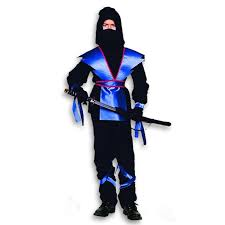 Ninja Halloween Costume Kids Lightning Ninja Master Costume Blue Ninja Halloween Costumes