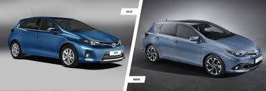 toyota old models 2015 toyota auris facelift u2013 can you tell the difference carwow