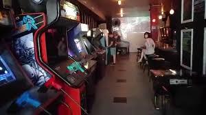 two bit u0027s retro arcade lower east side of nyc youtube