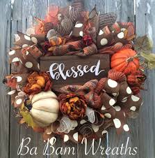 fall wreath autumn wreath rustic fall wreath thanksgiving