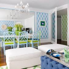 Lime Green And Turquoise Bedroom Chinese Chippendale Chair Contemporary Dining Room Jonathan