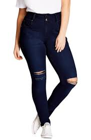 Plus Size Ripped Leggings Trendy Plus Size Clothing Guide